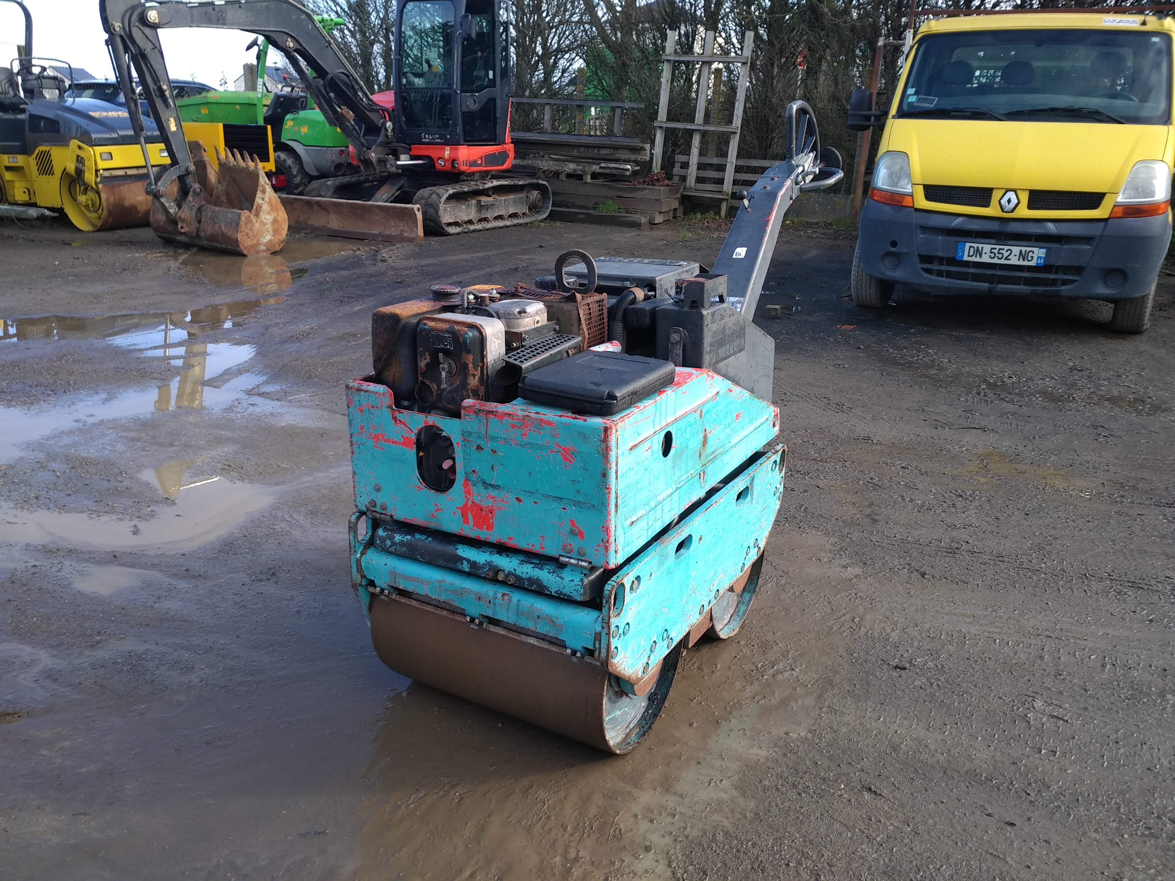 bw62 h bomag rouleau